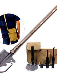 Недорогие -Survival Kit / Лопаты Простая установка, Многофункциональный для Походы / туризм / спелеология - Алюминиевый сплав 8 pcs