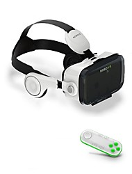 baratos -Óculos 3D ABS Grau A / TPU Transparente VR Virtual Reality Glasses ABS