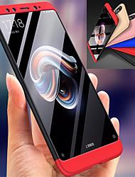 abordables -Coque Pour Xiaomi Mi 6X Antichoc Coque Intégrale Couleur Pleine Dur PC pour Xiaomi Mi 6X(Mi A2)