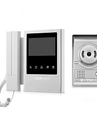 Недорогие -XINSILU XSL-V43E168 Проводное 4.3 дюймовый Гарнитура / Телефон 480*272 пиксель Один к одному видео домофона