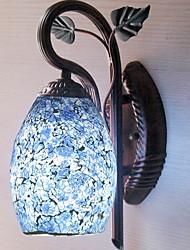 billige -Mat / Anti-reflektion Antik Væglamper Soveværelse Træ / bambus Væglys 220-240V 40 W
