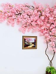 abordables -Fleurs artificielles 1 Une succursale Classique Elégant / Rustique Cerisier du Japon Arbre de Noël