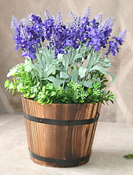 cheap -Artificial Flowers 1 Branch Classic Stylish / Rustic Lavender Tabletop Flower