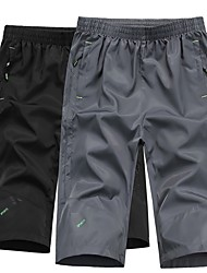 cheap -Men's Hiking Shorts Outdoor Fast Dry, Breathability Pants / Trousers Outdoor Exercise