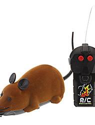 baratos -Brinquedos de Pegadinha Mouse Arrepiante Veludo Flocado 1 pcs Bebê Todos Dom