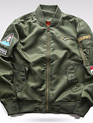 cheap -Men's Military Jacket - Creative