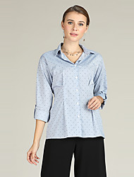 cheap -Suzanne Betro Women's Business / Basic Blouse - Solid Colored / Polka Dot