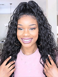 cheap -Virgin Human Hair Full Lace / Glueless Full Lace Wig Brazilian Hair Curly With Baby Hair 130% / 150% / 180% Density Natural Hairline Women's Short / Long Human Hair Lace Wig