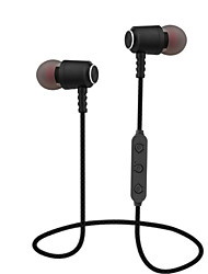 cheap -BT01 In Ear Bluetooth 4.1 Magnetic Absorption Headsets Noise Reduction Sports Bass Headphone Sweatproof Stereo Earphone