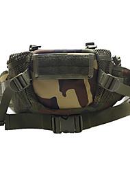 Недорогие -7 L Поясная сумка / Сумка на пояс - Быстровысыхающий, Пригодно для носки На открытом воздухе Пешеходный туризм, Походы Нейлон Черный, Военно-зеленный, Серый
