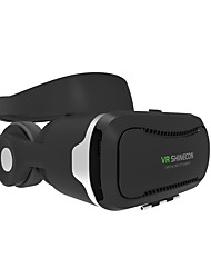 baratos -Fones (Bandana) ABS Grau A Transparente VR Virtual Reality Glasses 3D PP+ABS