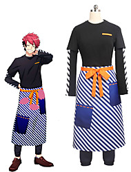 cheap -Inspired by Cosplay Cosplay Anime Cosplay Costumes Cosplay Suits Other Long Sleeve Top / Pants / Apron For Unisex