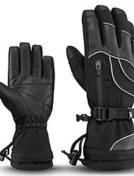 Недорогие -ROCKBROS Полныйпалец Универсальные Мотоцикл перчатки Кожа / Ткань Водонепроницаемость / Сохраняет тепло / Non-Slip