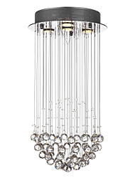 cheap -SL® 4-Light Pendant Light Ambient Light - Crystal, 110-120V / 220-240V Bulb Included / GU10 / 20-30㎡