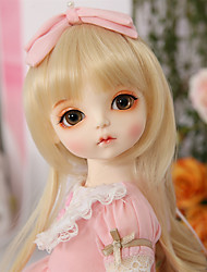 cheap -OuenElfs Ball-joined Doll / BJD / Blythe Doll Baby Girl 16 inch Full Body Silicone - High-Temperature Resistant Fibre Wigs Kid's Girls' Gift
