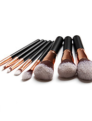 cheap -8pcs Makeup Brushes Professional Makeup Brush Set / Make Up / Skin Care Fiber Professional / Full Coverage Wooden / Bamboo