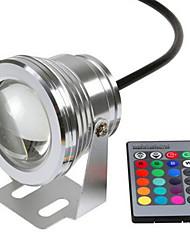 baratos -Controles remotos / Luzes inteligentes 1 LEDs RGB Impermeável / Decorativa / Cores Gradiente 12 V 1conjunto