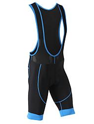 baratos -XINTOWN Homens Bermudas Bretelle Moto Shorts / Calções Bibes / Calças Tapete 3D, Secagem Rápida, Respirável Clássico Poliéster, Elastano