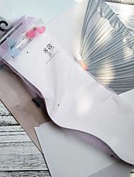 Недорогие -Жен. Носки Тонкая прозрачная ткань Формирование ног Полиэстер EU36-EU42