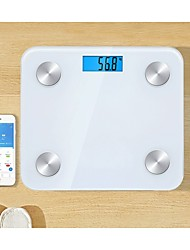 cheap -Canny CF470BT 8in1 Features BIA Technology Smart Scale Bluetooth Scale Digital Body Fat Scale Slimming Buddy Weighing Scale Smart Bluetooth Bathroom Weighing Scale BMR & BMI Analyzer Scale