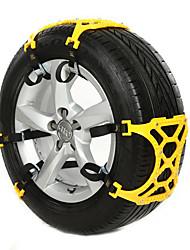 baratos -6pcs Carro Correntes de neve Comum Tipo de fivela For Roda de carro For Universal Todos os Modelos Todos os Anos