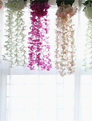 cheap -Artificial Flowers 1 Branch Suspended Stage Props / Modern / Contemporary Hydrangeas Wall Flower