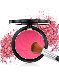 baratos -4 cores Corar 1 pcs Mate Durável Blush China Matte Feminino / Jovem Escola / Roupa Diária / Encontro Maquiagem Cosmético