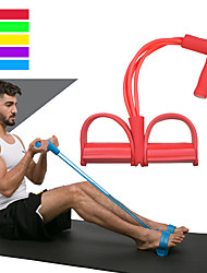 baratos -Faixa de Resistência/ Tubo Elástico de Resistência Com 1 pcs EVA Treino de Força Fisioterapia, Treino de Resistência Para Exercício e Atividade Física / Exercite-se Esportes