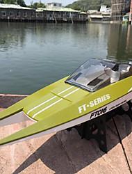 baratos -Barco Com CR FT016 Plástico 4 pcs Canais 30 km/h KM / H