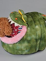 Недорогие -Мягкий / Милые Одежда для собак Кровати Животное Оранжевый / Зеленый Собаки / Коты