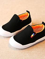 preiswerte -Jungen / Mädchen Schuhe Leinwand Frühling & Herbst Komfort Flache Schuhe Elastisch für Baby Gelb / Rot / Hellblau