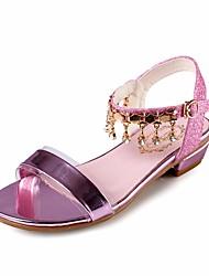economico -Da ragazza Scarpe PU (Poliuretano) Estate Scarpe da cerimonia per bambine / Tacchi Piccoli per adolescenti Sandali per Oro / Argento / Rosa