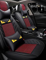 economico -ODEER Coprisedili per auto Coprisedili Nero - rosso Tessile Normale for Universali Tutti gli anni Tutti i modelli