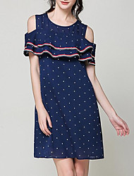 cheap -women's going out a line dress above knee