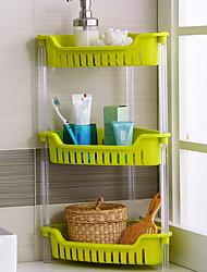 baratos -Utensílios de cozinha Plástico Rapidez / Simples Suporte Uso Diário / Para utensílios de cozinha 1pç