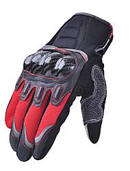 abordables -Madbike Dedos completos Unisex Guantes de moto Microfibra / Material Mixto Pantalla táctil / Transpirable / Resistencia al desgaste