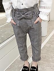 abordables -Niños Chica A Cuadros Pantalones