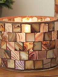 baratos -Estilo Europeu material especial Suporte de Vela Candelabro 1pç, Candle / Candle Holder