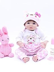 baratos -OtardDolls Bonecas Reborn Bebês Meninas 16 polegada realista, Implantação artificial olhos azuis, Nozes vedadas e seladas de Criança Para Meninas Dom