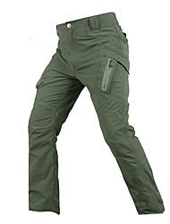 baratos -Homens Calças de Trilha Ao ar livre Secagem Rápida, Vestível, Respirabilidade Calças Equitação / Exercicio Exterior / Multi-Esporte