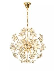 cheap -QIHengZhaoMing 10-Light Chandelier Ambient Light 110-120V / 220-240V, Warm White, Bulb Included / G4 / 15-20㎡