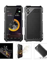 Недорогие -Кейс для Назначение Apple iPhone X Водонепроницаемый / Защита от удара Чехол броня Твердый Металл для iPhone X / iPhone 8 Pluss / iPhone 8