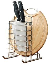 baratos -Utensílios de cozinha Inoxidável Simples Suporte Uso Diário / Para utensílios de cozinha 1pç