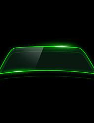 Недорогие -Черный / Зеленый Автомобильные наклейки Деловые Пленка переднего лобового стекла (коэффициент пропускания> = 70%) Автомобильная пленка