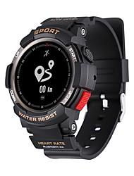 Недорогие -Смарт Часы NO.1 F6 для iOS / Android Пульсомер / Водонепроницаемый / Израсходовано калорий / Длительное время ожидания / Творчество / Напоминание о звонке / Датчик для отслеживания активности