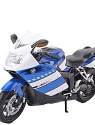 Недорогие -Игрушечные мотоциклы Мотоспорт Мото Новый дизайн Металлический сплав Детские Для подростков Все Мальчики Девочки Игрушки Подарок 1 pcs