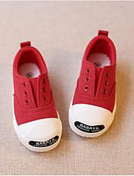 preiswerte -Jungen / Mädchen Schuhe Leinwand Frühling & Herbst Komfort Sneakers für Baby Rot / Rosa