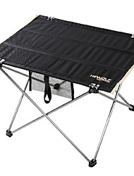 cheap -Camping Table Outdoor Lightweight, Folding Oxford Cloth, Aluminium 6061 for Fishing / Camping Black