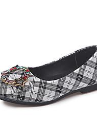 economico -Da ragazza Scarpe PU (Poliuretano) Autunno inverno Scarpe da cerimonia per bambine Ballerine Footing Fiocco per Bambino Rosa / Bianco / nero