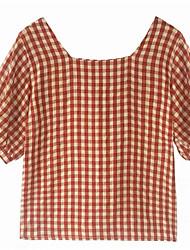 preiswerte -Damen Gestreift T-shirt